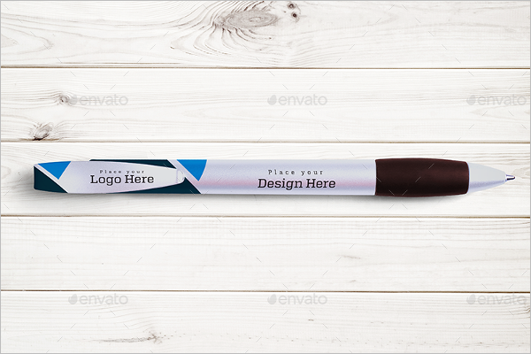 Pen Mockup illustration