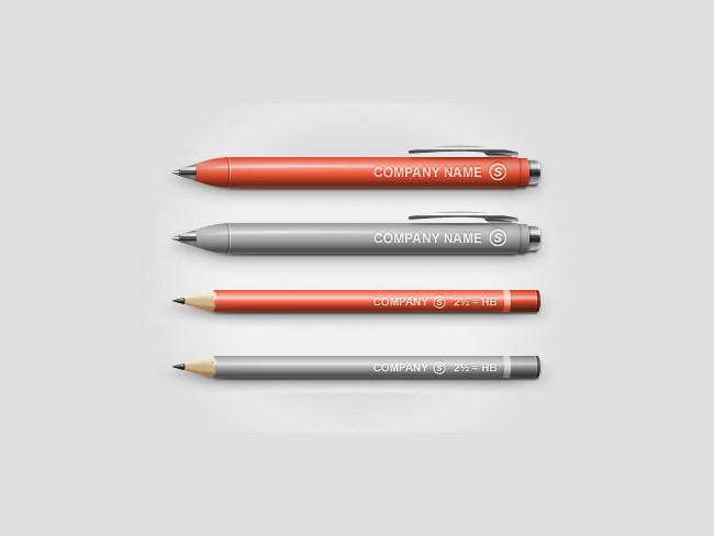 Pen-Pencil Mock-up
