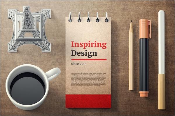 Pen & Pencil Mockup Template