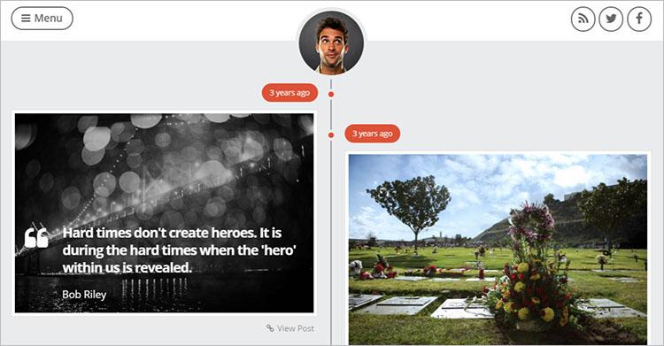 Personal Magazine WordPress Templates