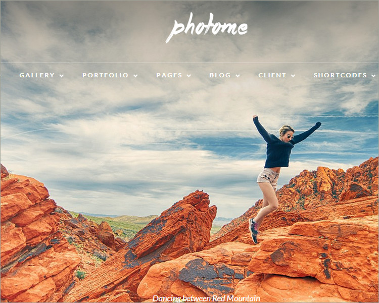 Photo Gallery Photography Theme