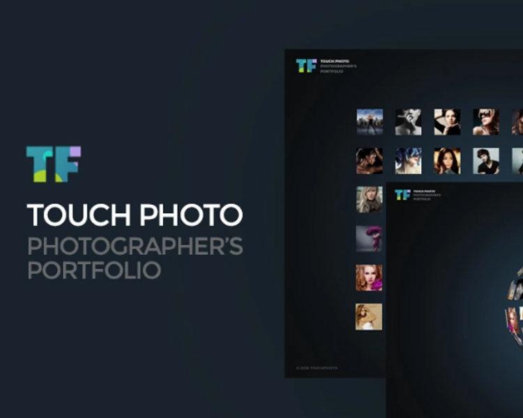 Photo Website Template