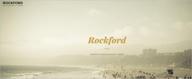 Photography Fullscreen Theme Templates