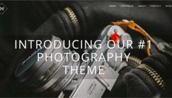 Photography Wordpress Template