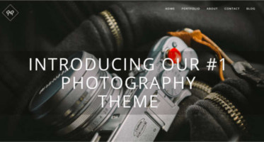 Photography WordPress Templates