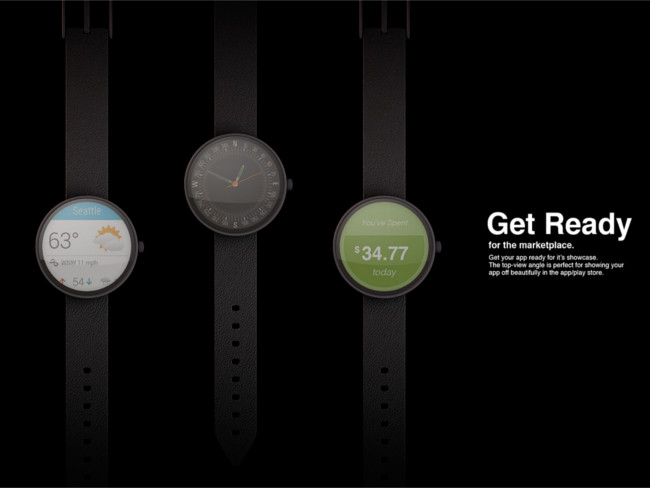 Photorealistic PSD Smartwatch Mockup Premium