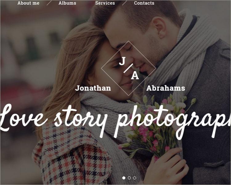 Portfolio Responsive Website Template