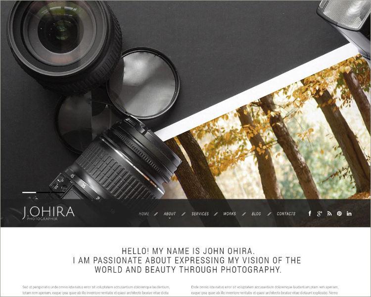 Portfolio Responsive Website Theme