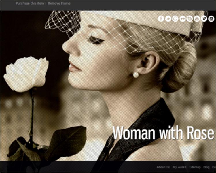 Portfolio Template for Photographers