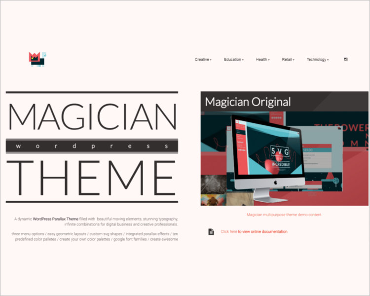 Portfolio WordPress Templates