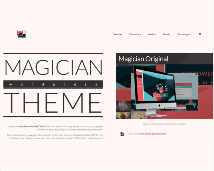 Portfolio WordPress Templates