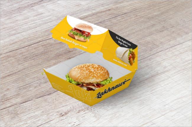 Premium Food Box Mockup Template