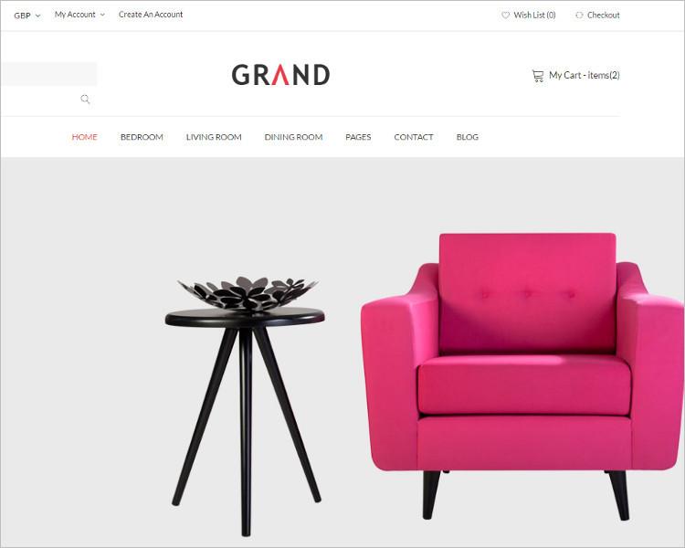 Premium Furniture Bootstrape Templae