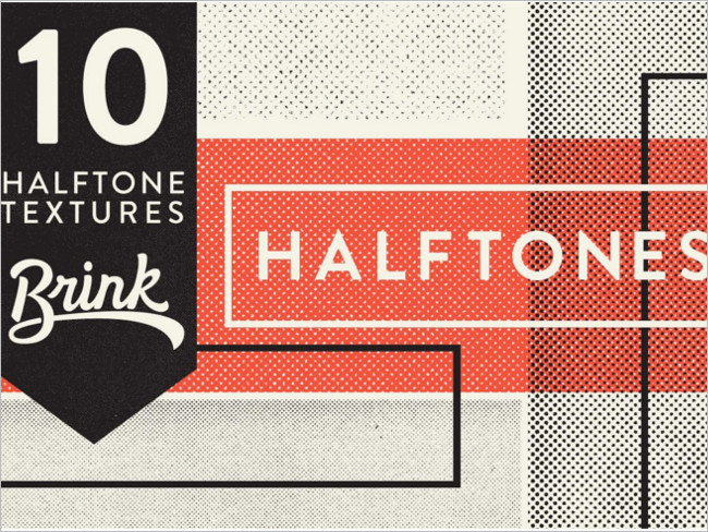 Premium Halftron Texture Design