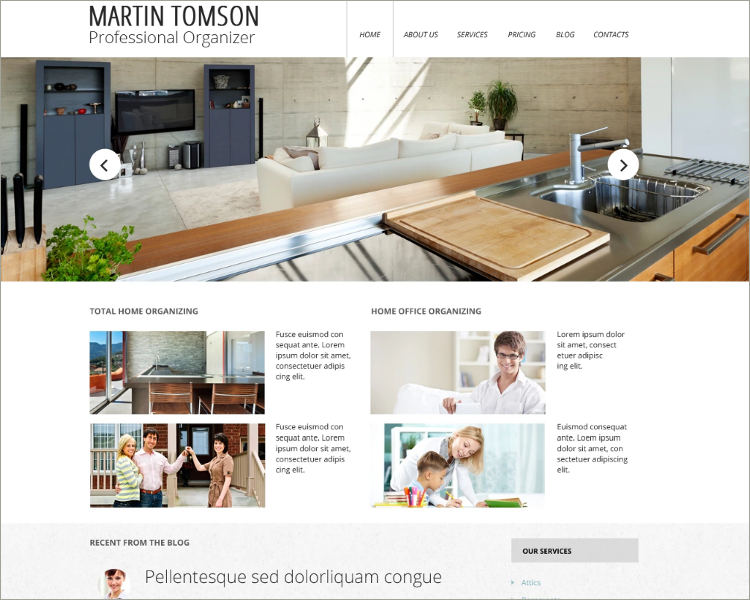 Premium Interior Design Website Theme
