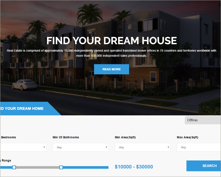 Premium RealEstate WordPress Theme
