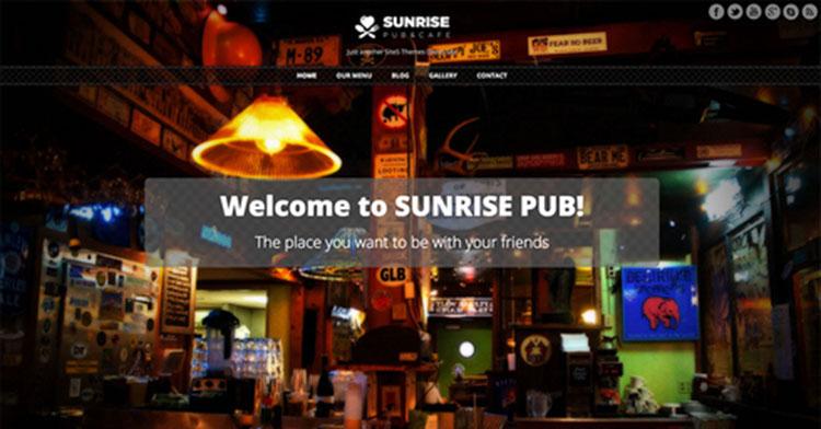 Pub Pour WordPress Theme Templates