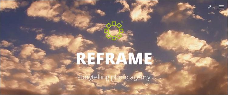 ReFrame Photography Theme Templates
