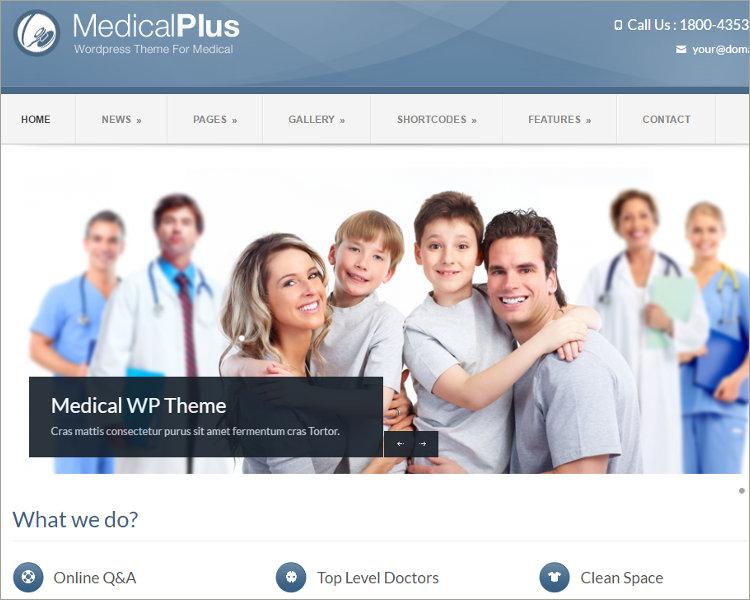 Rehabilitation Acupuncture WordPress Theme