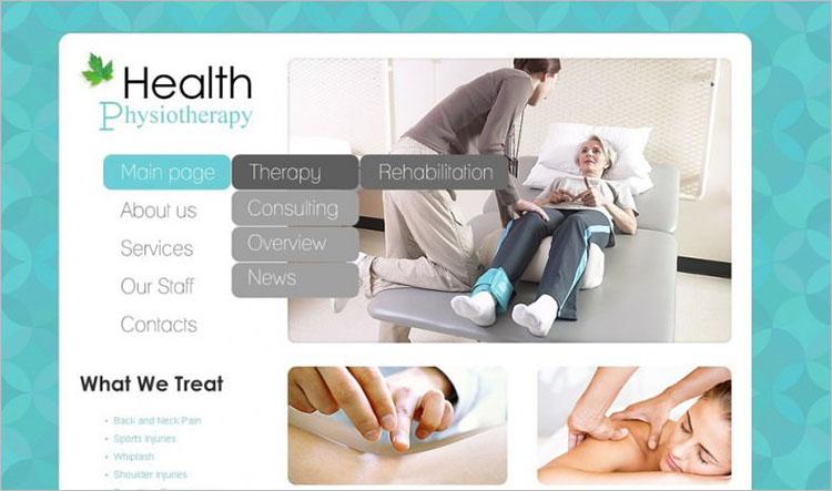 Responsive Acupuncture WordPress Theme