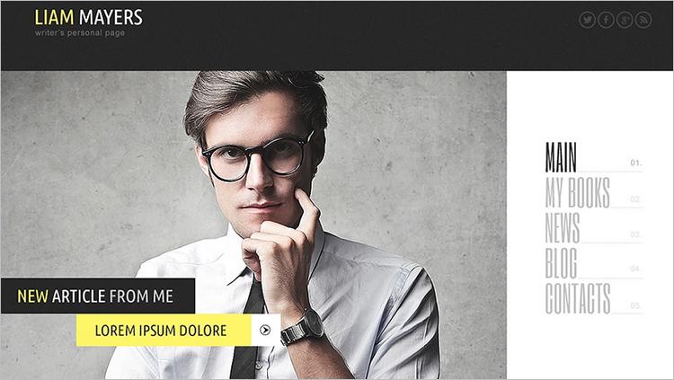 Responsive Copywriters WordPress Theme Templates