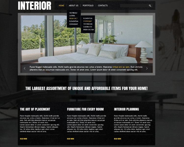 27 Interior Design Website Themes Templates Free Download