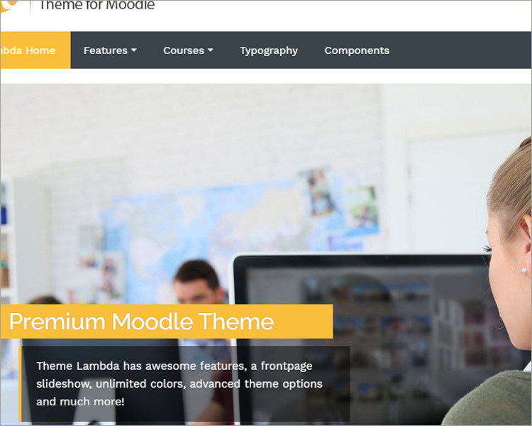 Responsive Moodle Theme