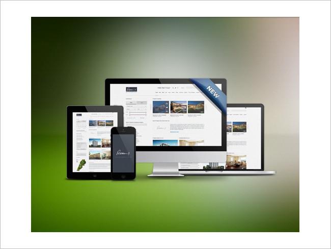Responsive Phones, Tablets Mockup Free PSD