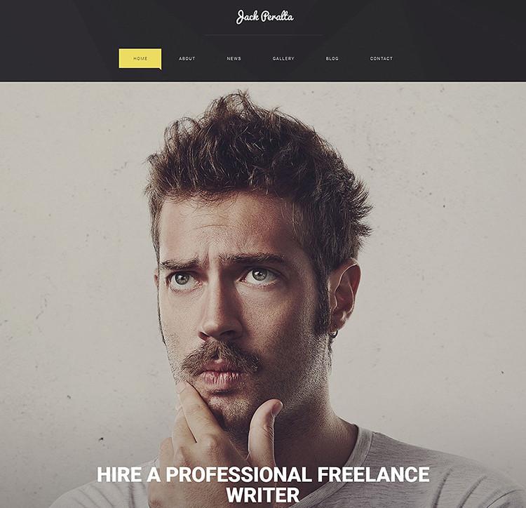 Responsive & Premium Blog Website Templates