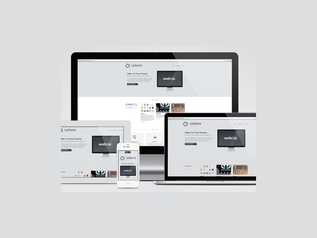 Responsive Screen Mockup Pack Free PSD