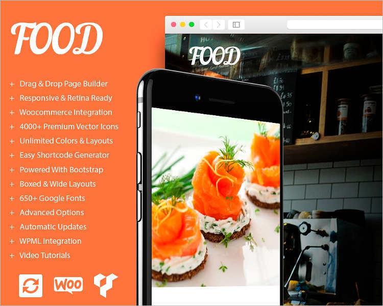 Restaurant Budget WordPress Template