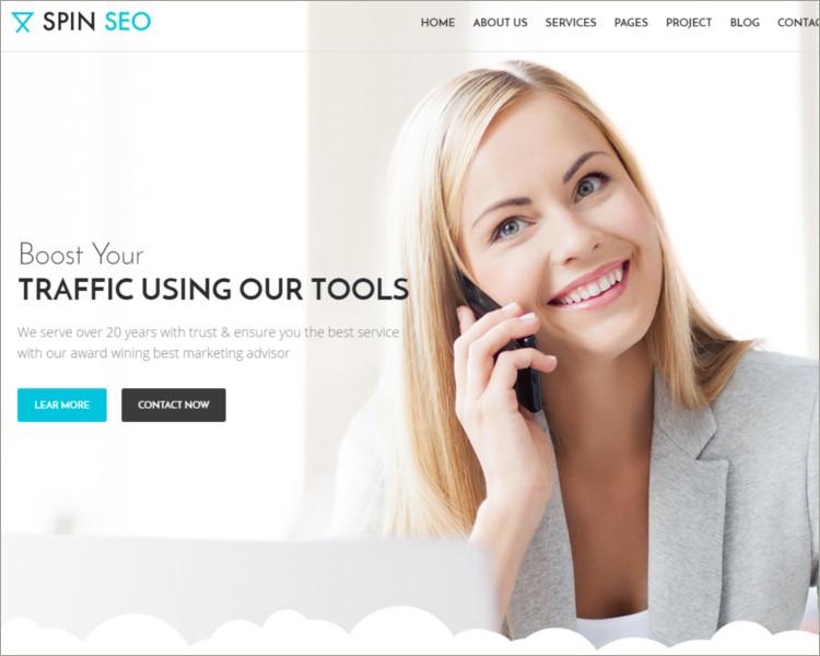 SEO & Business WordPress Theme