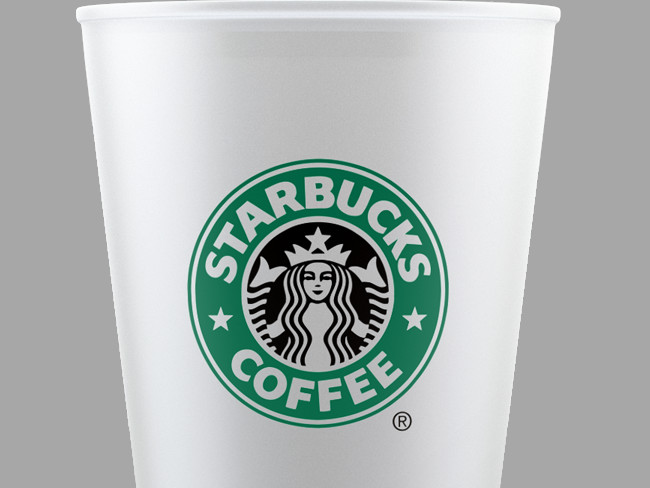 STARBUCKS Style Cup Mockup