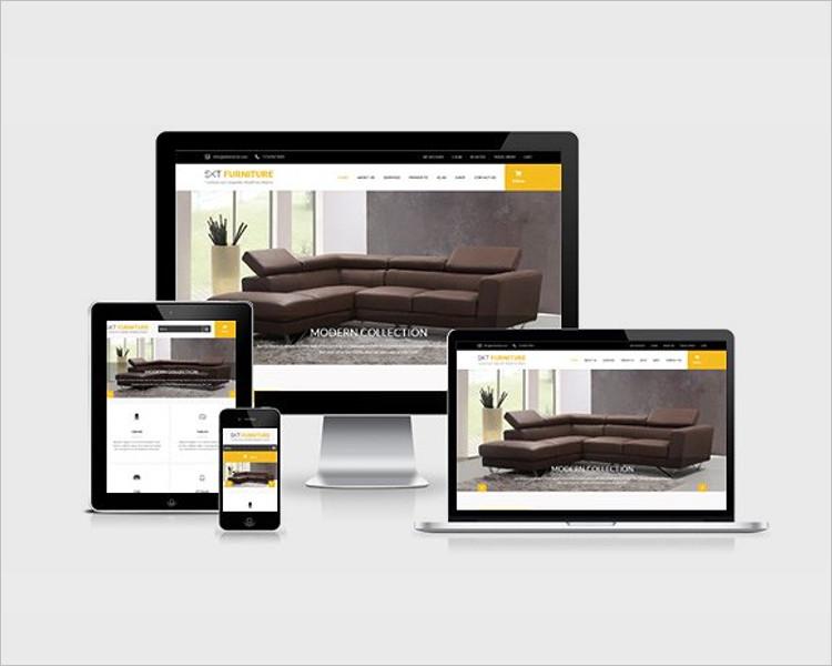14 carpenter wordpress themes free premium templates. Black Bedroom Furniture Sets. Home Design Ideas