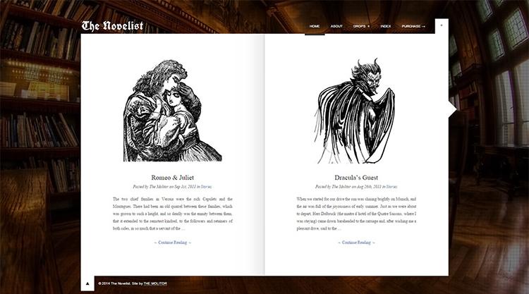 Sample Copywriters WordPress Theme Templates