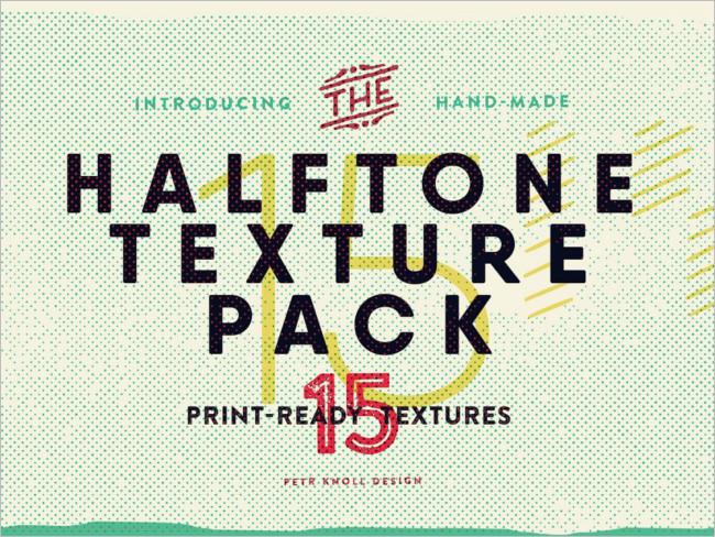 Sample Halftrone Texture Design