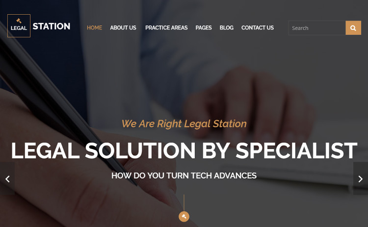 Sample Law firm wordpress templates