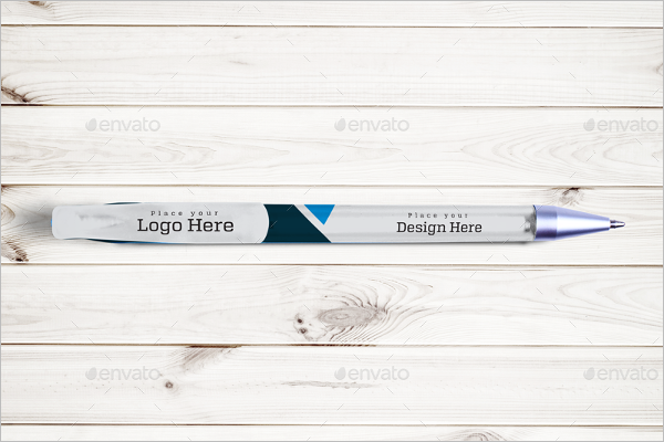 Sample Pen Mockup