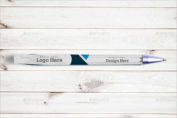 Sample Pen Mockup