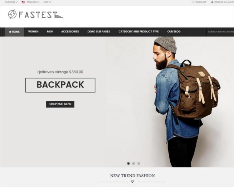 Sample Selling Website Template