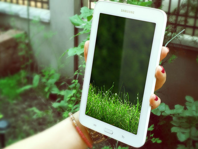 Samsung Galaxy Tab 3 Mockup