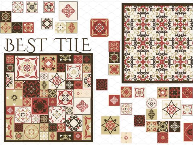 Seamless Floor Tile Texture