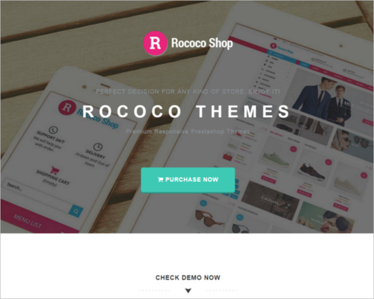 Selling Accessories Website PSD Template