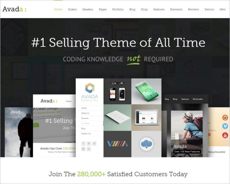 Selling Book WordPress Theme
