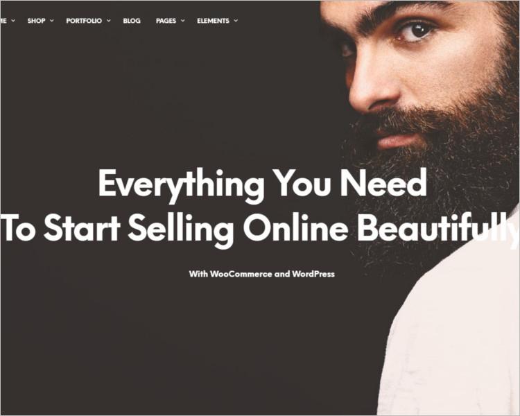 Selling Shopkeeper WordPress Theme