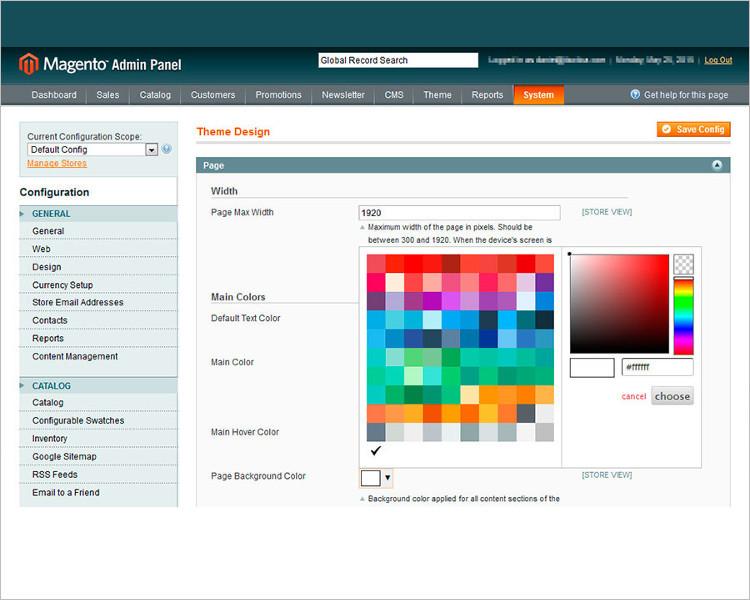 Selling Website PSD Design Template