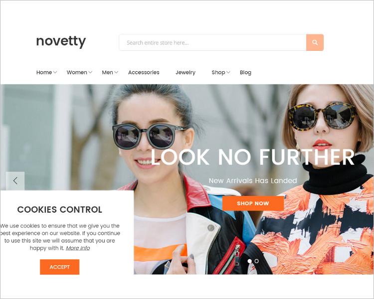 Selling Website PSD TEmplate Model
