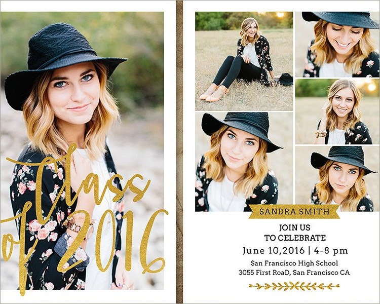 26 graduation invitation templates free word designs