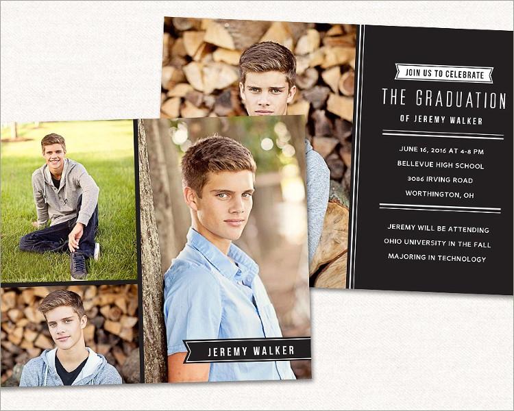 Senior Graduation Card Template