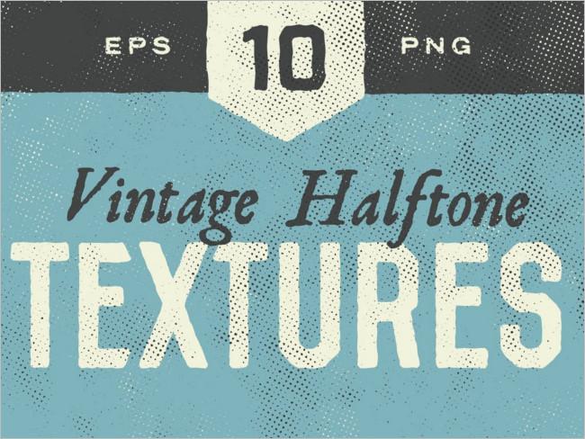 Simple Halftone Texture Design